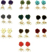 Prisha Collections Alloy Earring Set
