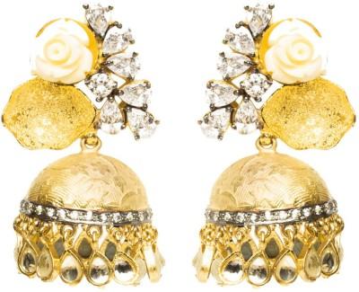 Joyas Stylish Brass Jhumki Earring