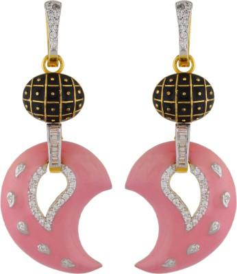T&T Mango Design Earrings Alloy Hoop Earring