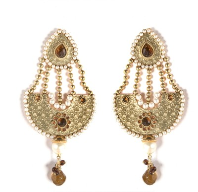 99HomeMart Ear15 Cubic Zirconia Alloy Drop Earring