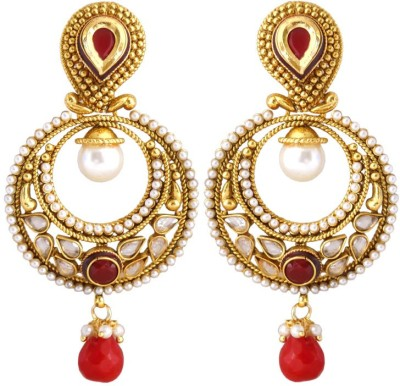 Rich Lady Princess Delight Alloy Drop Earring