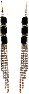 000 Fashions Multi Colour Snake Charm Crystal For Women Alloy Dangle Earring