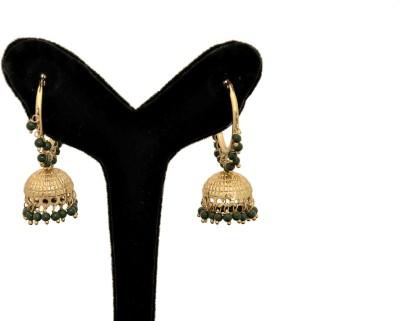 Arohi Jewells & Gems AJG115 Copper Earring Set