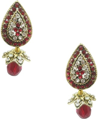 Taruni Taruni Maroon Drop Earrings. Alloy Drop Earring