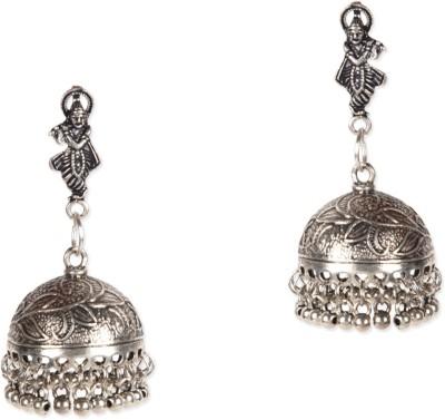 ZeroKaata Vasudev German Silver Jhumki Earring