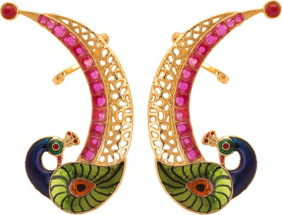 ADWITIYA COLLECTION Bright, Princes, Rose, Delight Copper Stud Earring