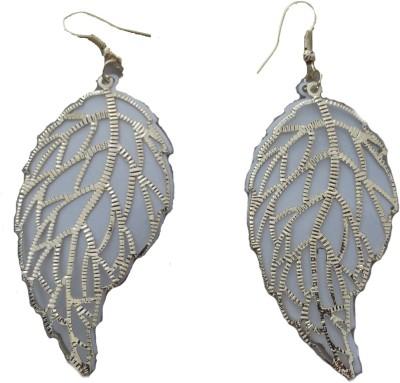 MH Leaves Crystal Plastic Dangle Earring