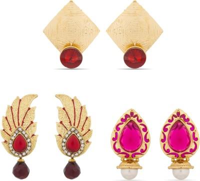 Luxor Designer Alloy Drop Earring