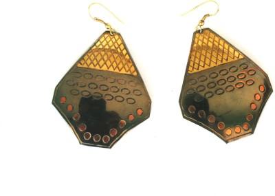 Gajraula Crafts Stylish Copper Dangle Earring