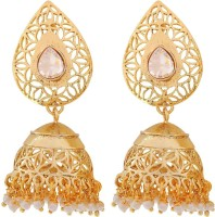Maayra Posh Filigree Copper Jhumki Earring best price on Flipkart @ Rs. 415