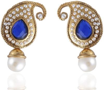 Vastradi Jewels Brass, Alloy Drop Earring