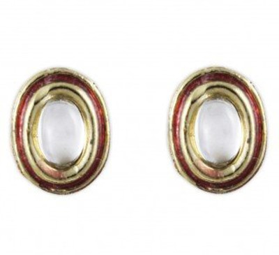 Karatcart Fashion Jewellery Brass Stud Earring