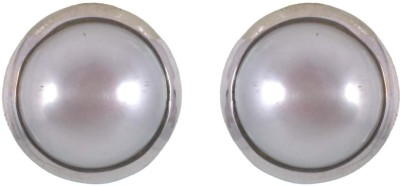 Jay mataji jewels Spring Sparkle Pearl Sterling Silver Stud Earring
