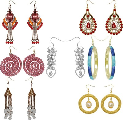 Kenway Retail 7 Days Gift Pack Brass Earring Set