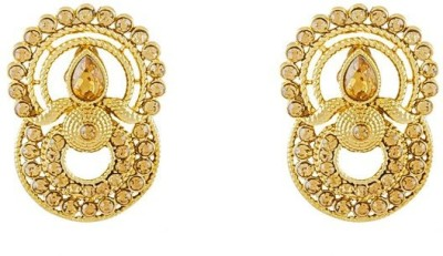 Art Nouveau Excellent American Brass Chandelier Earring
