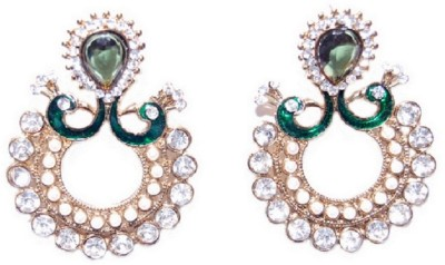 Crazytowear Classic Alloy Chandbali Earring