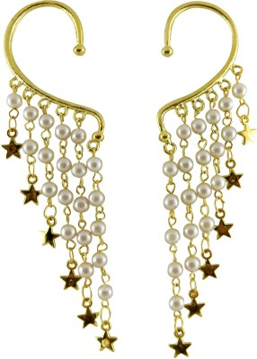 Shreyadzines Starry pearls Alloy Cuff Earring