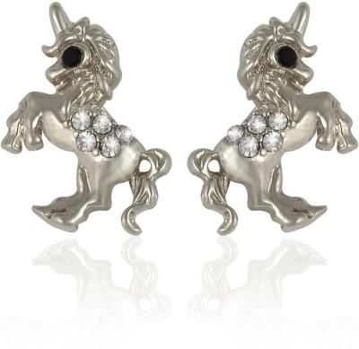 Sarah Unicorn Metal Stud Earring