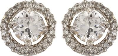 Dilan Jewels Framed Solitaires Zircon Alloy Stud Earring