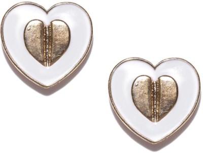 ToniQ Heart Metal Stud Earring