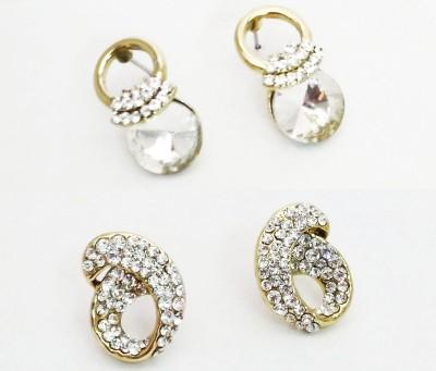 NEHASTORE Combo Offer CB23 Mother of Pearl Alloy Earring Set