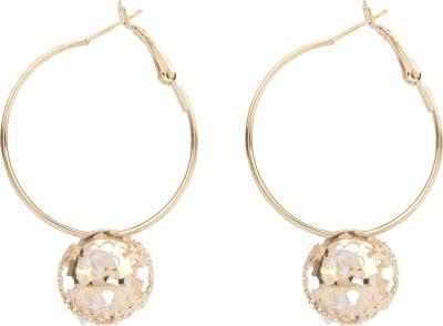 R18Jewels-Fashion&U Sparkling SuperSTAR Metal Hoop Earring