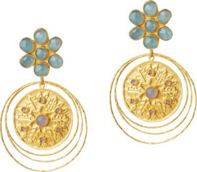 Mehtaphor Euphemia Brass Drop Earring
