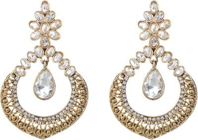 Saadgi Alloy Chandelier Earring