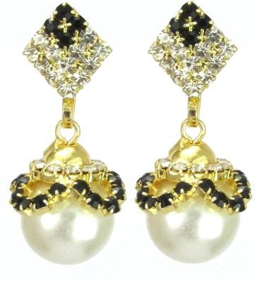 New Age Fashion Jewellery Pearl Stone Quartz Alloy Drop Earring