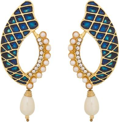 Luxor Designer Spark Alloy Drop Earring