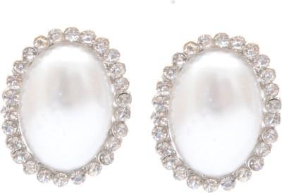 Neelam adorable moonstone Alloy Stud Earring