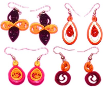 Vaishali's Quilling Jewellery Combo Offer Paper Earring Set