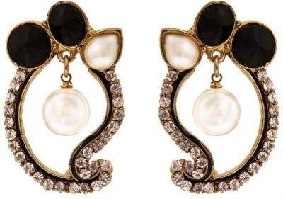 Vaishali Bindi and Bangles Zircon Alloy Drop Earring