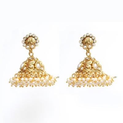 Tatva Incredible Art Copper Jhumki Earring