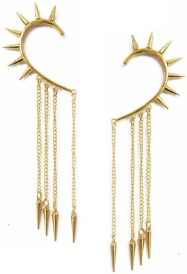 Amroha Crafts Spike Me Up Pair Alloy Cuff Earring
