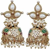 Maayra Sensual Pearl Copper Jhumki Earring best price on Flipkart @ Rs. 599