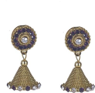 Aakhya JHM9 Alloy Jhumki Earring