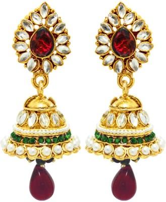 Peora Traditional Alloy Jhumki Earring