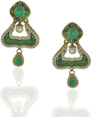 Anuradha Art Princess Delight Metal Drop Earring