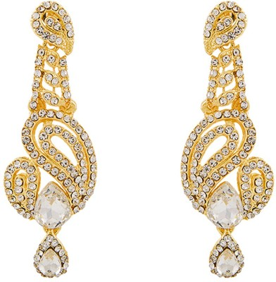 REEVA FASHION JEWELLERY LONG HANGING Zinc Drop Earring