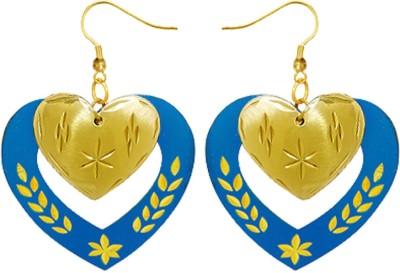 Kenway Retail Cool Beats Brass Dangle Earring