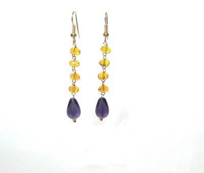 shalini jewlles fashionable Beads Metal Dangle Earring