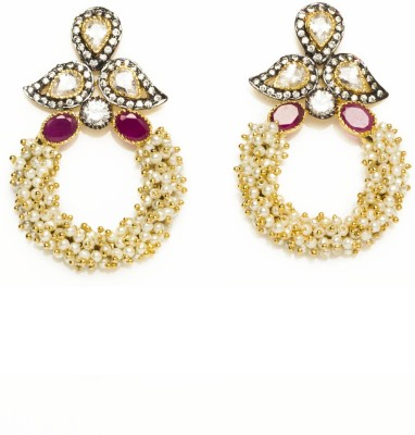 Joyas Trendy look Brass Drop Earring