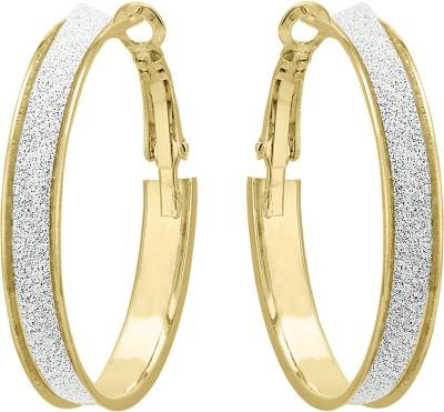 Shanti Jewellery Imported Earrings Brass Hoop Earring