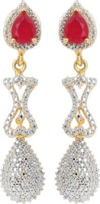 Fashionista Gurl Adorable Ruby Alloy Drop Earring