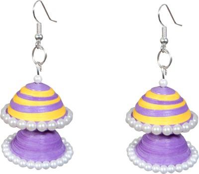 Scion Purple Perks Paper Dangle Earring