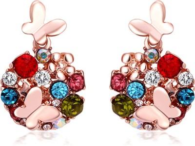 University Trendz Univ_e002 Crystal Alloy Stud Earring