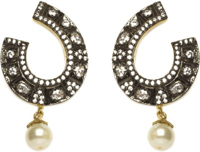 Joyas Stylish Look Brass Drop Earring
