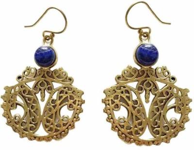 Mini Traders Mt-107 Brass Dangle Earring