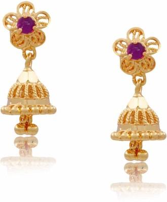 Jewbang Traditional Style Alloy Jhumki Earring